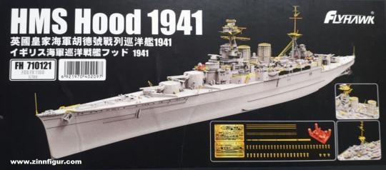 HMS Hood 1941 Fotoätzteile