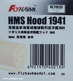 HMS Hood 1941 Kabeltrommeln