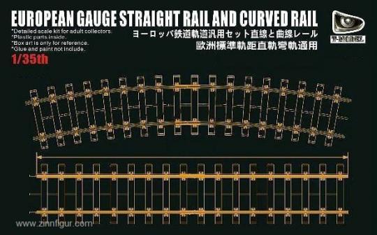 Gerades & Gebogenes Gleis Europäische Spurweite - 360 mm