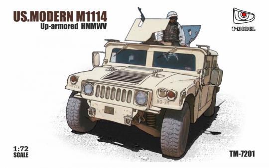 M1114 - HMMWV mit Zusatzpanzerung