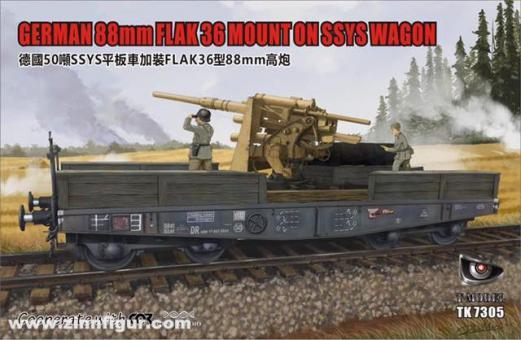 88mm Flak 36 auf SSys Wagon