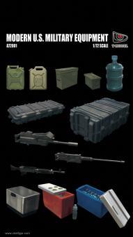 Modernes US Militär-Zubehör