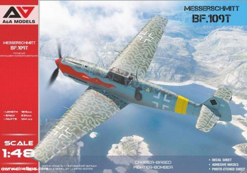 Bf 109T1/T2 Flugzeugträger-Jagdbomber