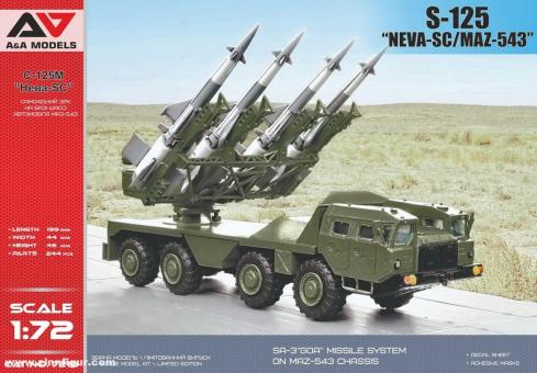 """S-125 """"NEVA-SC/MAZ-543"""""""