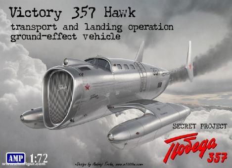 Victory 357 Hawk Ekranoplan