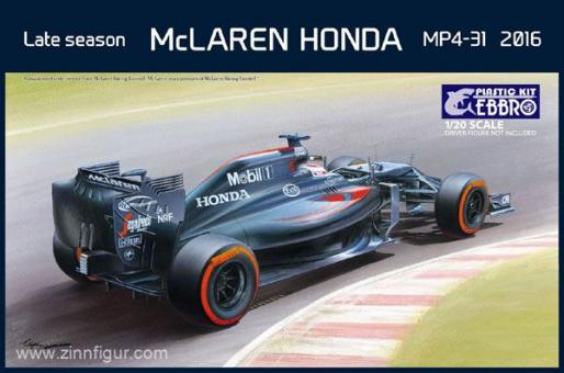 McLaren Honda MP4-31 2016 späte Saison