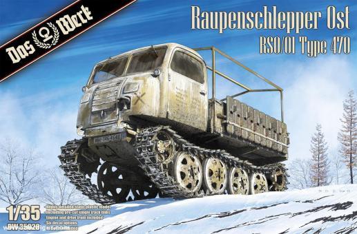 Raupenschlepper Ost RSO/01 Typ 470
