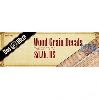 Wood Grain Decals for Sd.Anh.115