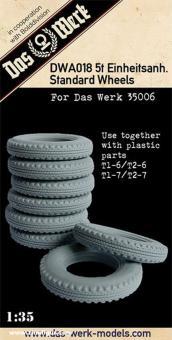 Resin Wheel Set für 5t Einheitsanhänger