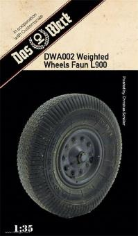 Faun L900 Weighted Tires