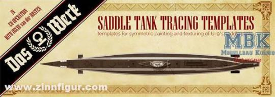 U-9 Saddle Tank Templates