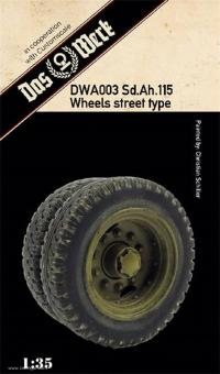 Sd.Ah. 115 Wheighted Tires (Street Pattern)