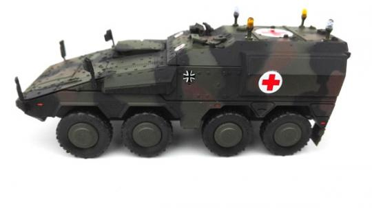 Boxer Sanitätsfahrzeug - NATO FTA Anstrich