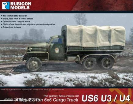 US6 U3/U4 2 1/2 ton 6x6 Truck