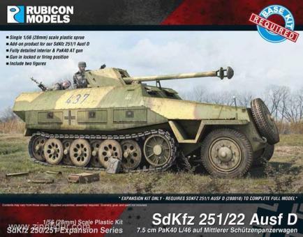 Sd.Kfz.251/22 Ausf.D Conversion Set