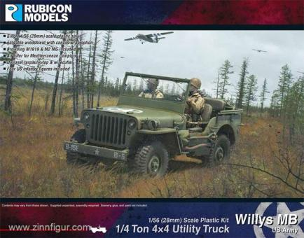 US Willys MB 1/4 ton 4x4 Truck