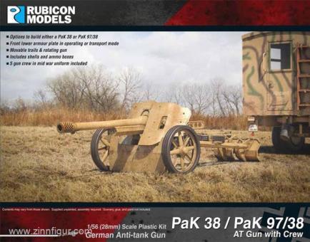 PaK 38 / PaK 97/38 mit Figuren