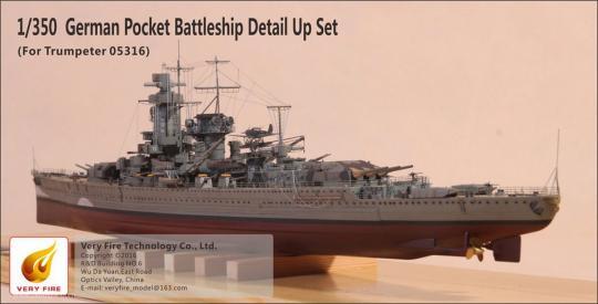 Graf Spee Detailset