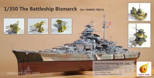 Battleship Bismarck Detailset