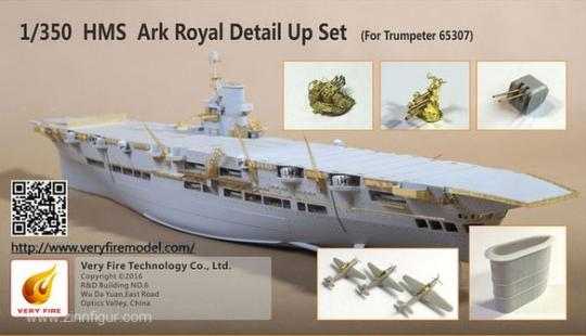 HMS Ark Royal Detail Set