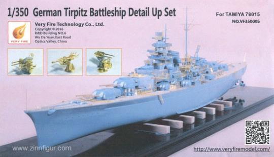 Battleship Tirpitz Detail Set