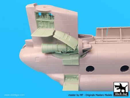 CH-47 Chinook Triebwerk