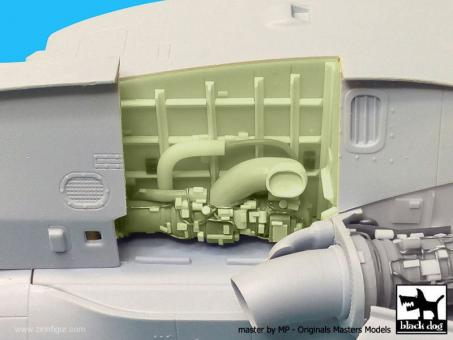 Westland Merlin HC.3 Triebwerk Set 1