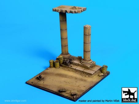 Antike Säulen in Afrika - Diorama Base