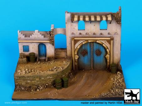 Middle Eastern Street - Diorama Base