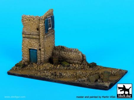 Italian House Ruin - Diorama Base