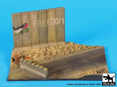 Israelische Straße - Diorama Base