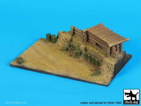 Pacific Bunker WWII - Diorama Base