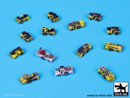 US Deck Tractors Accessories Set