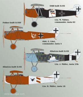 Fokker D.VII Teil 2