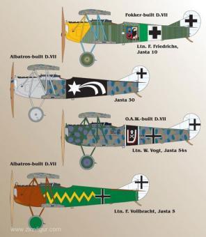 Fokker D.VII Teil 3