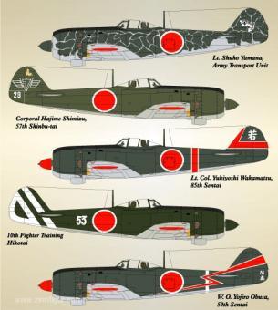 Ki-84 Hayate Teil 2