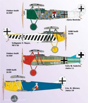 Fokker D.VII Teil 4