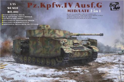 Pz.Kpfw.IV Ausf.G mittlere/späte Produktion