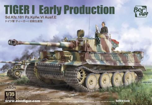 Tiger I frühe Produktion Sd.Kfz.181