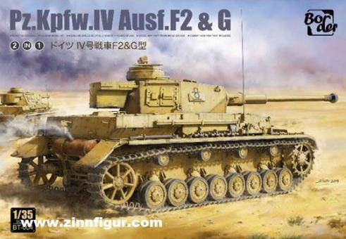 Pz.Kpfw.IV Ausf.F2 & Ausf.G