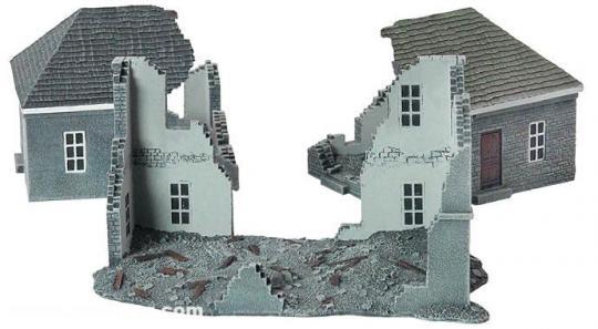 Gebäuderuinen