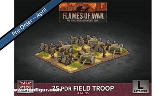 25-pdr Field Troop