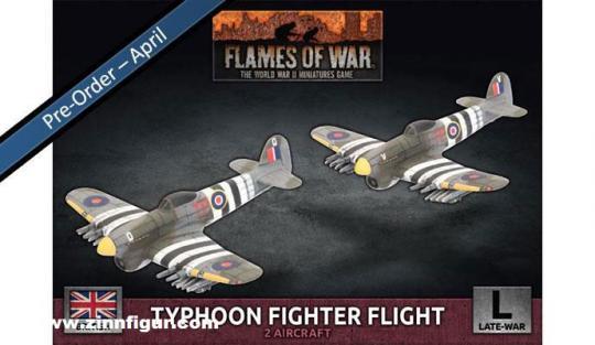Typhoon Fighter-Bomber Flight