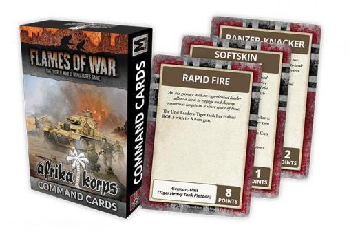 Afrika Korps Command Cards