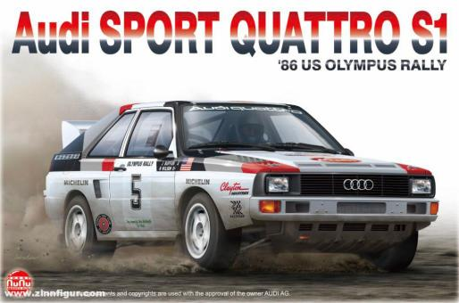 "Audi Sport Quattro S1 ""1986 US Olympus Rally"""