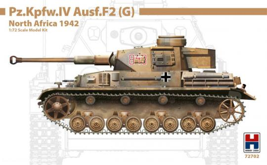 Pz.Kpfw.IV Ausf.F2(G) - Nordafrika 1942