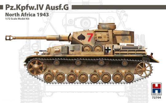 Pz.Kpfw.IV Ausf.G - Nordafrika 1943
