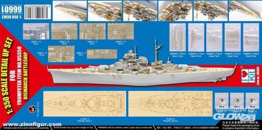 Bismarck 1941 Detailset
