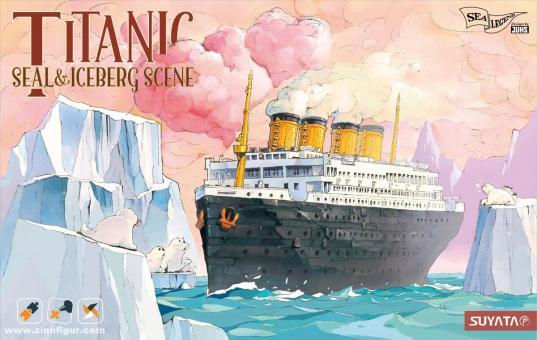 Titanic - Eisbergszene mit Seehunden