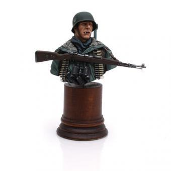 Soldat mit MG42 Dreibein bei Kharkov